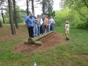 Team-building at Verdun