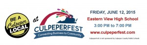 Be A Culpeper Local at CulpeperFest 2015