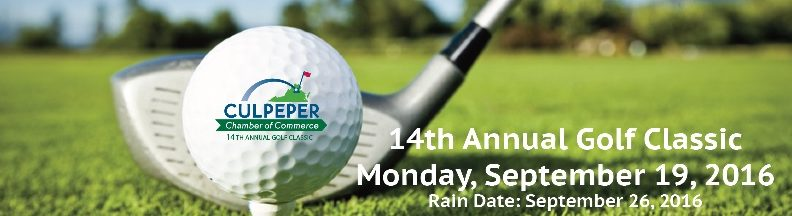 golf banner for web page